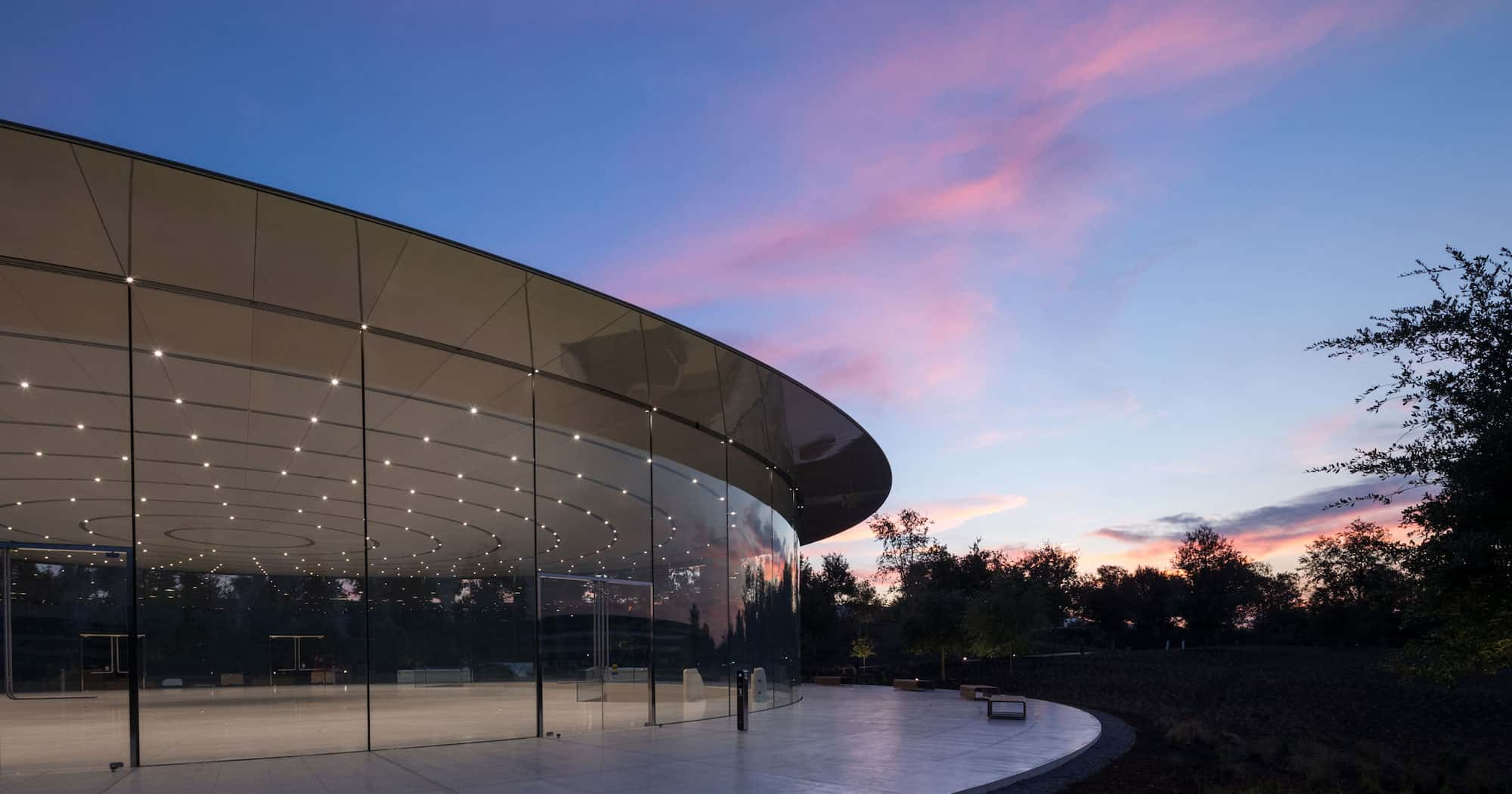 WWDC 2020 en el Steve Jobs Theater vacío