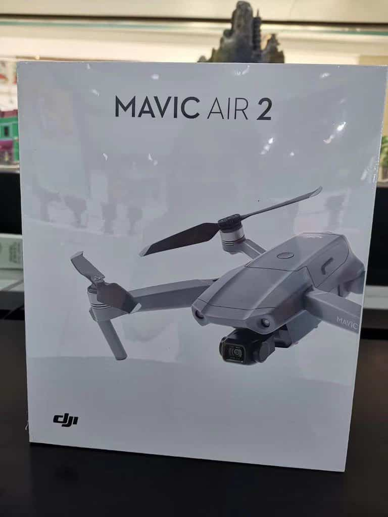 DJI Mavic Air 2 filtrado
