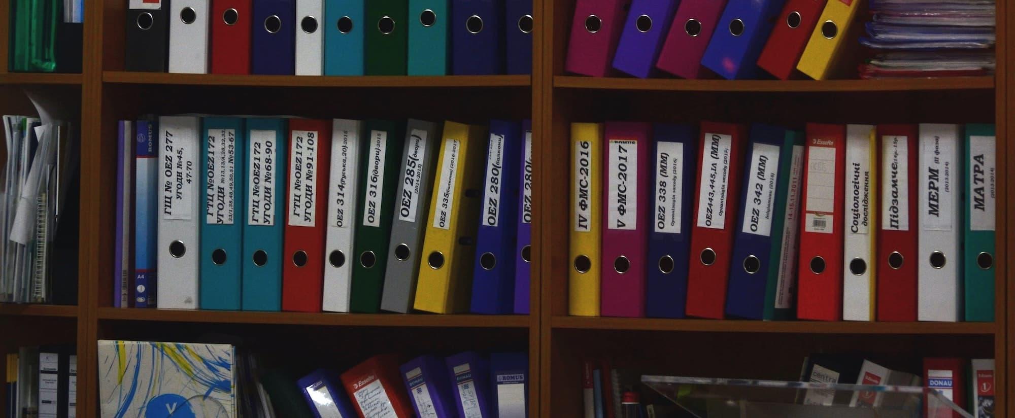 cómo nombrar archivos y ordenar carpetas
